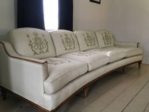 Mid century modern sofa  /couch, custom made by Thomasville in Joliet, Illinois
