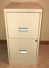 Two drawer metal filing cabinet in Aurora, Illinois