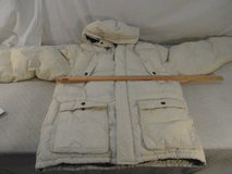 adult men's timberland off-white xl nylon filled full zipper winter coat 33903 in Fort Carson, Colorado