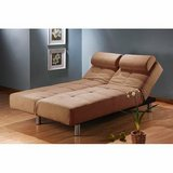 Manhattan Convertible Chaise Futon Sofa Bed - DISPLAY MODEL! in Joliet, Illinois