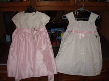 """2"" Beautiful High Quality Like New GIRLS Size 5 Dresses Pink White!! in Brookfield, Wisconsin"