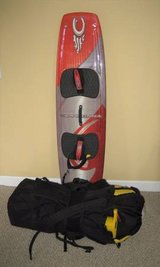 CABRINHA Prodigy 148cm Kiteboard & CO2 Kite & All Accessories in Bolingbrook, Illinois
