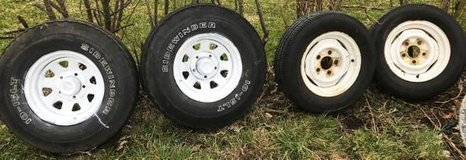 1969 Ford F100 Set of rims & tires in Ottawa, Illinois