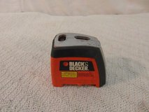 black and decker orange magnetic laser sight level battery powered 33916 in Fort Carson, Colorado