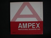 Vintage AMPEX 7 inch Reel To Reel Music Tapes Lot of 42 in Fairfield, California