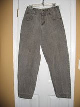 womens size 11 gray high waist pants vintage jeans calvin klein  party sexy in Cochran, Georgia