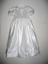 white size 4 new party wedding communion flower girls dress summer clothing in Cochran, Georgia