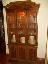 Beautiful Lighted China Cabinet - CHEAP! - L@@K! in Brookfield, Wisconsin