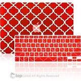 Moroccan Trellis Red Ultra Slim Light Weight Rubb in Fort Knox, Kentucky