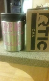 Rtic koozie w/ take me to the beach decal in Warner Robins, Georgia