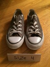 Converse Chuck Taylor All Star Sneakers - Size 4 in Glendale Heights, Illinois