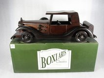Collectible Classic Wooden Model Car in Chicago, Illinois