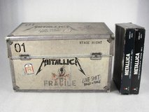 Metallica binge & purge box set vhs cd plus a year and a half in the life of... in Naperville, Illinois