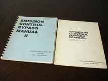 emission control bypass manuals 1973-1976 ford bronco chrysler gm engines repair in Naperville, Illinois