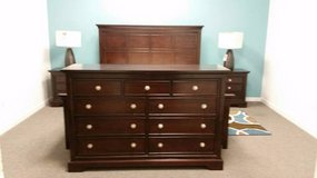 6 pc King Panel Bed Group On Sale in Beaufort, South Carolina