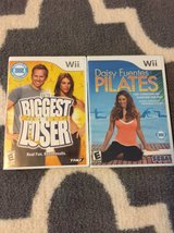 Wii Biggest Loser and Pilates workout games in Joliet, Illinois