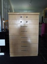 Dresser*Vintage*Blonde*Dovetail*All Wood*Ex Cond in Fort Leonard Wood, Missouri
