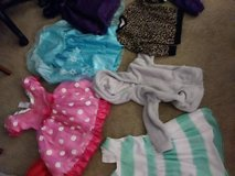 4-5T 6 dresses 2 jackets 1 sweater in Roseville, California