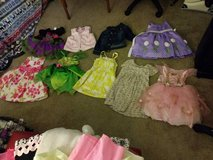 2T 7 dresses 1 vest 1 jacket in Roseville, California