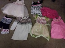 3T 4 dresses 1 sweater 1 skirt 1 pair of pants in Roseville, California