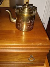 Chinese Brass Kettle Tea Pot Mini in Roseville, California