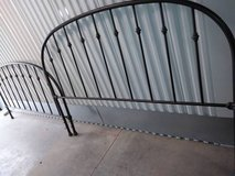 Wrought Iron Style Queen size head board and foot board in Hill AFB, UT