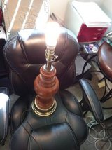 Wood lamp without shade in Roseville, California