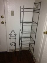 6 Tier Wire Shelving Rack Metal Unit Garage Kitchen Bathroom in Roseville, California