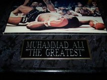 Muhammad Ali KO Sonny Liston Boxing Autographed Photo in Travis AFB, California