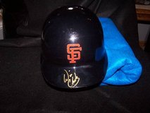 Will Clark Autographed SF Giants Batting Helmet in Travis AFB, California