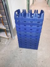 11Authentic Classic Pepsi 2 Liter Carrier Stackable Blue Plastic Crate in Roseville, California