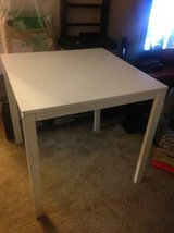 Ikea Melltorp Underframe White 29x29 Square table in Sacramento, California