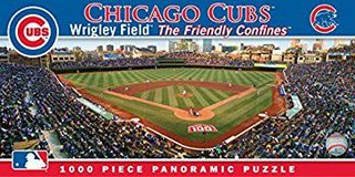 WRIGLEY FIELD PANORAMIC PUZZLE 1000 PIECES in Elgin, Illinois