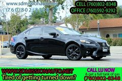 2015 Lexus IS 250 Base Black Ask for Louis (760) 802-8348 in Oceanside, California