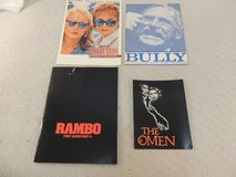 4 hollywood movie press kits postcards from the edge, bully, the omen, rambo ii in Fort Carson, Colorado