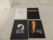 4 hollywood movie press kits the bear predator 2, homicide, the godfather part 3 in Huntington Beach, California