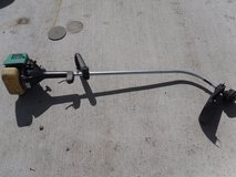mac cordless string trimmer green gas powered weed eater weedeater used 110172 in Huntington Beach, California
