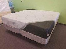 "75% OFF! KING SIZE 10"" FIRM & 12"" PLUSH - HYBRID Gel / Memory Foam! in Oswego, Illinois"