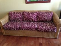 Wicker Couch in Naperville, Illinois
