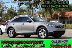 2009 INFINITI FX35 Base Ask for Louis (760) 802-8348 in Oceanside, California