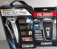 New! Conair Lighted Hair Cut Pro Kit -OR- Foil Shaver in Joliet, Illinois