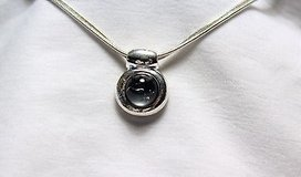 """NWT Accent lane bryant gray necklace 16"""" silver tone pendant statement choker in Kingwood, Texas"""