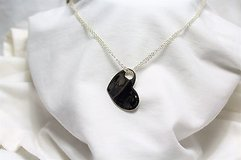 """NWT Express floating heart necklace 18"""" silver tone pendant statement choker in Kingwood, Texas"""