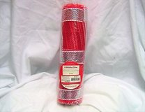 "Holiday time 10"" x 10 ft deco mesh decorative poly christmas roll red stripe craft in Kingwood, Texas"