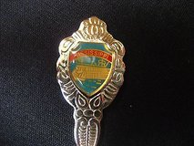 Mississippi blue silver tone usa state collector souvenir spoon travel in Kingwood, Texas