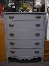 Pretty French Gray Dresser in Elgin, Illinois