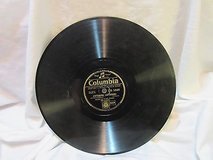 "antique columbia 1848 first vintage 78 rpm record etched album 10"" double sided in Kingwood, Texas"