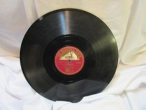 "antique 1940 flling in love jones 78 rpm record etched album 10"" double sided in Kingwood, Texas"