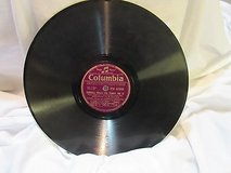 "Antique columbia 2398 gibbons piano 78 rpm record etched album 10"" double sided in Kingwood, Texas"
