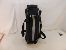 streamline by storm blue 3 ball handled zippered pocketed wheeled bowling bag 50917 in Huntington Beach, California